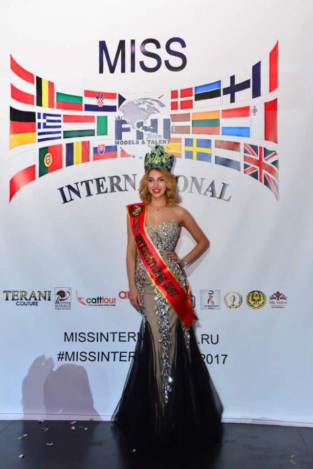 C 11-12 октября в Турции, прошел Конкурс Красоты и Таланта«MISS INTERNATIONAL2017»