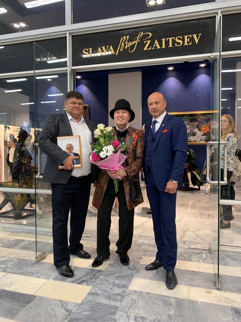 В РГУ им. Косыгина в День Знаний открыли музей В. Зайцева